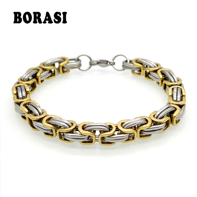 Clic Design Punk Jewelry Stainless Steel Bracelet Special Biker Bicycle Motorcycle Chain For Mens Bracelets Bangles