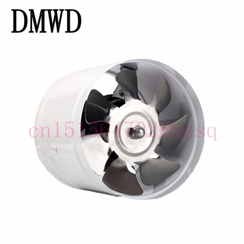 DMWD Bi-directional interface kitchen ventilator low volume Durable corrosion resistance Copper leaf exhaust fans 150mm orbital volume 6 resistance