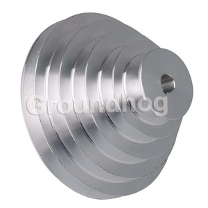 Image 2 - Aluminum 5 Step A Type V Belt Pagoda Pulley Outter Dia 54 150mm(Hole Diameter 14mm 16mm 18mm 19mm 20mm 22mm 24mm 25mm 28mm)