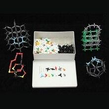 643pcs/set Organic Chemistry Scientific Polymer Atom Molecular Model Teach Class Kit Set Crystal Structure Model Set