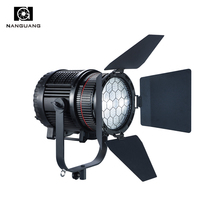 200W Portable LED Fresnel Light LED Photographic Studio Light with Universal Bowens Mount for Broadcast Film TV Program