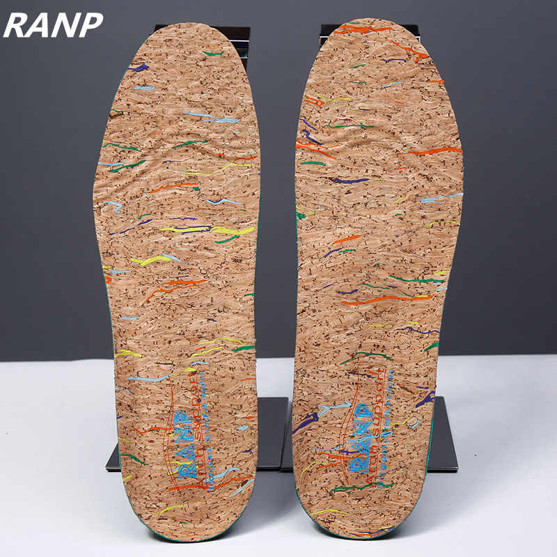 0178a0eee8 Italy Oak Cork Orthopedic Insoles Flat Foot Arch Support Anti-Slip  Breathable Deodorant Foot Massage