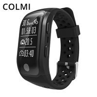 COLMI GPS Smart Band IP68 Waterproof Sports Wristband Multiple Sports Heart Rate Monitor Call Reminder Brim