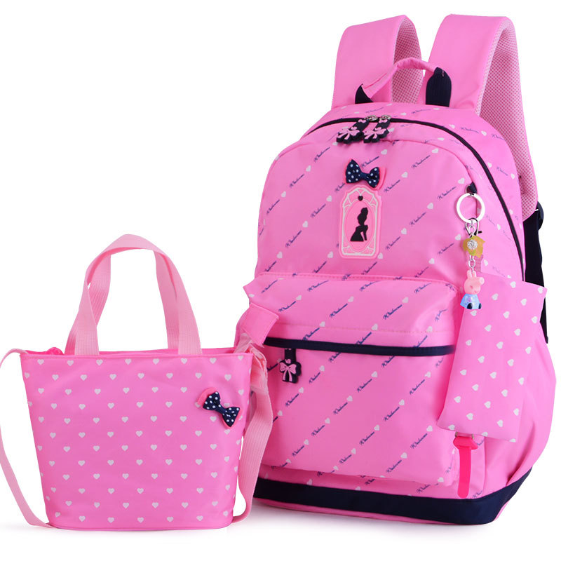 Girl School Bags For Teenagers backpack set women shoulder travel bags 3 Pcs/Set rucksack mochila knapsack