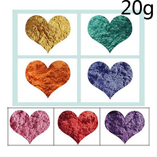 8 Colors Soap Colorant Do It Yourself Natural Mineral Mica Powder Soap Dye 20g Handmade Soap Tools in Baking Pastry Tools from Home Garden