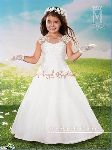 Vestido nina blanco barato