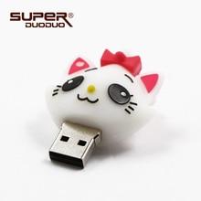 Cat usb stick 4GB 8GB 16GB 32GB 64GB Pen Drive 128GB usb Flash Drive memory disk 512MB