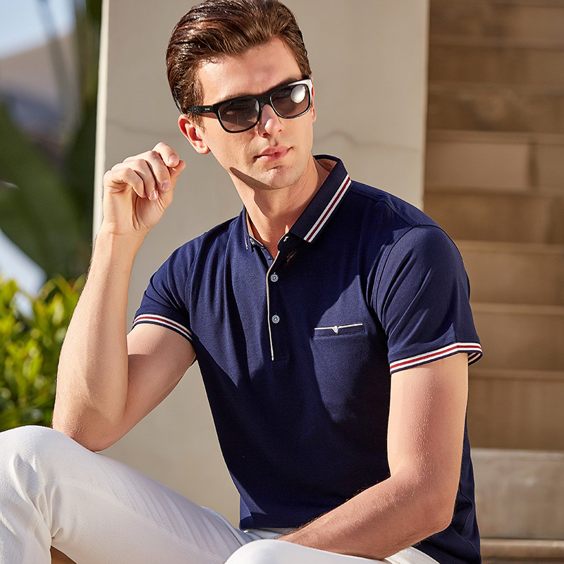 Plus Size M-3XL Brand New Men's   Polo   Shirt High Quality Men Cotton Short Sleeve shirt Brands jerseys Summer Mens   polo   Shirts