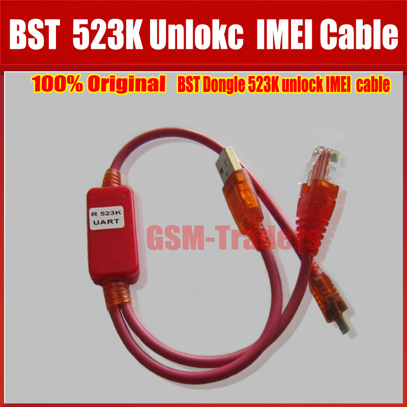 100% original BST dongle para HTC Samsung flash IMEI NVM/EFS root note3 S6 S5 con desbloqueo, IMEI UART 523 K cable