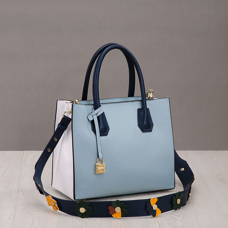 PRAVESDA 2018 hot sale flower straps style messenger bags women genuine leather tote bags hot sale leather bags for women tote pu 2015 134 women messenger bags 134
