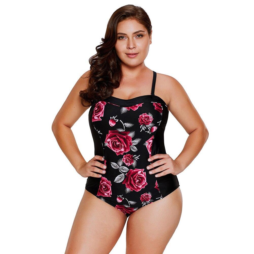 La MaxPa Vintage Flower Swimwear Әйелдер XL Swimsuit - Спорттық киім мен керек-жарақтар - фото 3