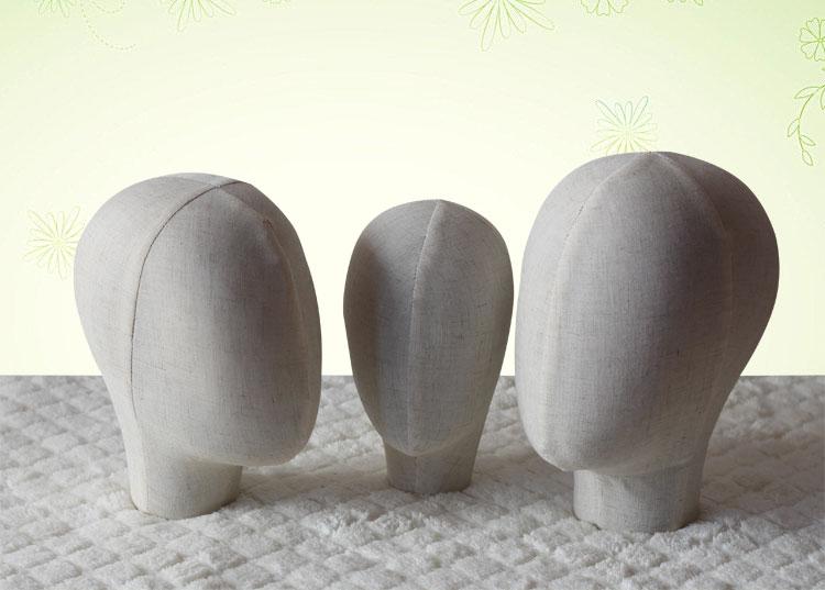 Nouveauté modèle de tête de Mannequin en tissu pour femme et homme et enfant sur une offre spéciale