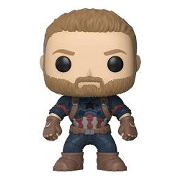 Marvel Avengers 3 Infinity War Thanos Captain America Iron Man Thor Spiderman Black Panther Action Figure FUNKO 10cm