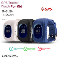 2018 GPS Positioning Loss of Tracker Smart Child Locator English of The OLED Display SOS Phone Location Search Device LBS GPS