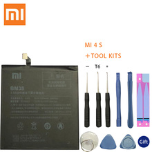 Xiaomi Phone Battery BM38 3210mAh High Capacity Quality for Mi 4S Mi4S Original Replacement Retail Package
