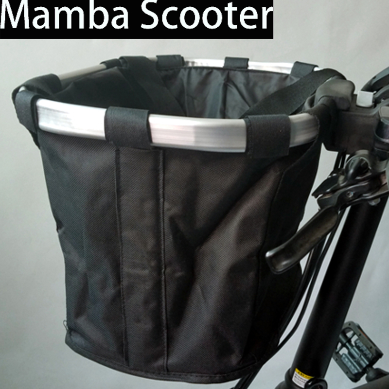 все цены на Xiaomi Mijia Qicycle EF1 Electric Scooter Storage Front Pet Carrying Bag Basket Package for Foldable Electric E-Bike Scooter