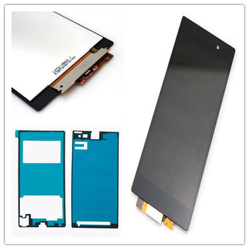 JIEYER Black For Sony Xperia Z1 L39h C6902 C6903 C6906 C6943 LCD Display Digitizer Touch Screen Assembly Parts 4 6 original display for sony xperia z3 compact d5803 d5833 lcd touch screen digitizer with frame for sony z3 mini lcd display