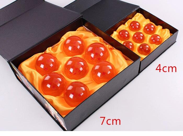 ФОТО 10 sets/lot Dragon Ball Toys  crystal balls 7cm Dragonball figure set of 7pcs  Goku Doll