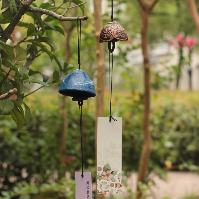 Japanese Style Metal Wind Chimes Manualidades Ornaments Hanging Decoration  Vintage Home Decor Birthday Gift Garden Decoration