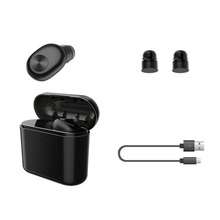 Wireless Bluetooth Earphone Mini Invisible Earbuds In-ear Headset with Charging Box Portable Sport Travel Earpiece Headphone недорого