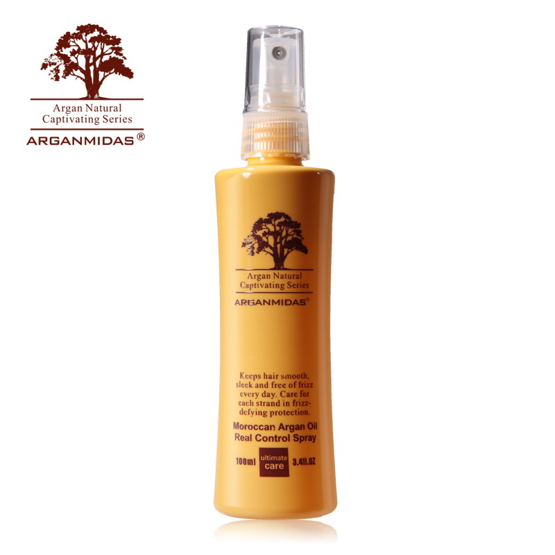 все цены на Christmas gifts Arganmidas 100ml Moroccan argan oil hair control spray products free shipping онлайн