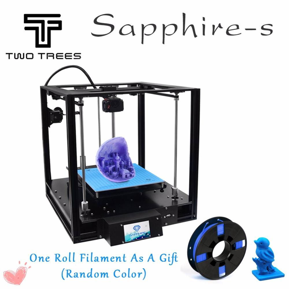 2019 New 3D Printer High precision Sapphire CoreXY Automatic leveling Aluminium Profile Frame Big Area DIY