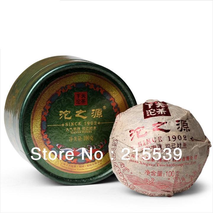 [GRANDNESS] Tuo Zhi Yuan * 2013 yr, Yunnan XiaGuan Tea Factory Premium Pu-erh Raw Sheng TuoCha Pu'er 100g with nice box