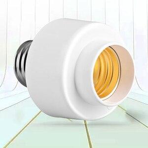 Image 3 - Wifi اللاسلكية مصباح إضاءة ذكي مقبس المسمار ضوء المصباح الكهربي حامل كاب المقبس دعم E27 استخدام المنزلي