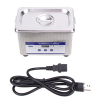 Mini Digital Ultrasonic Cleaner 800ml Tank Capacity Jewelry Watch Dental 50W 42 000Hz Ultrasound Sterilizer