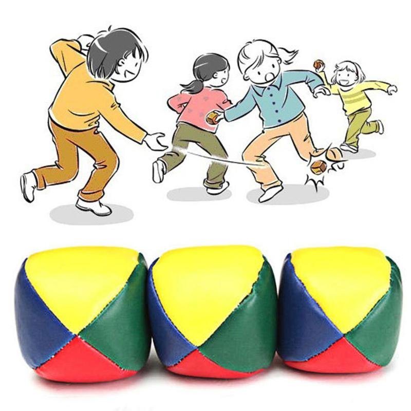 1 Pcs 5cm Durable Juggling Balls Kids Outdoor Sports Toy Classic Bean Bag Magic Circus Beginner Interactive Toys For Children