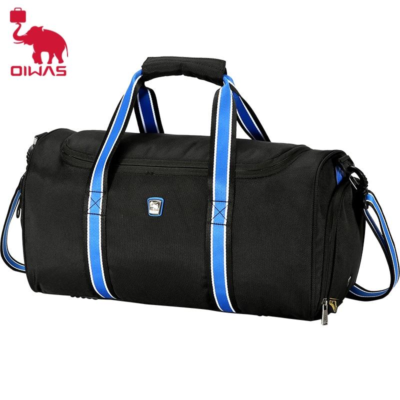 OIWAS 2 Color Polyester Waterproof Luggage Handbag Travel Zipper Bag Portable Shoulder Bag top popular for Men&Women Bag