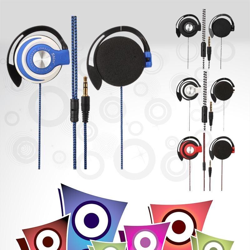 1.1 M Portátil 3.5mm Auriculares Con Cable Auricular Clip On Ear Auriculares Del