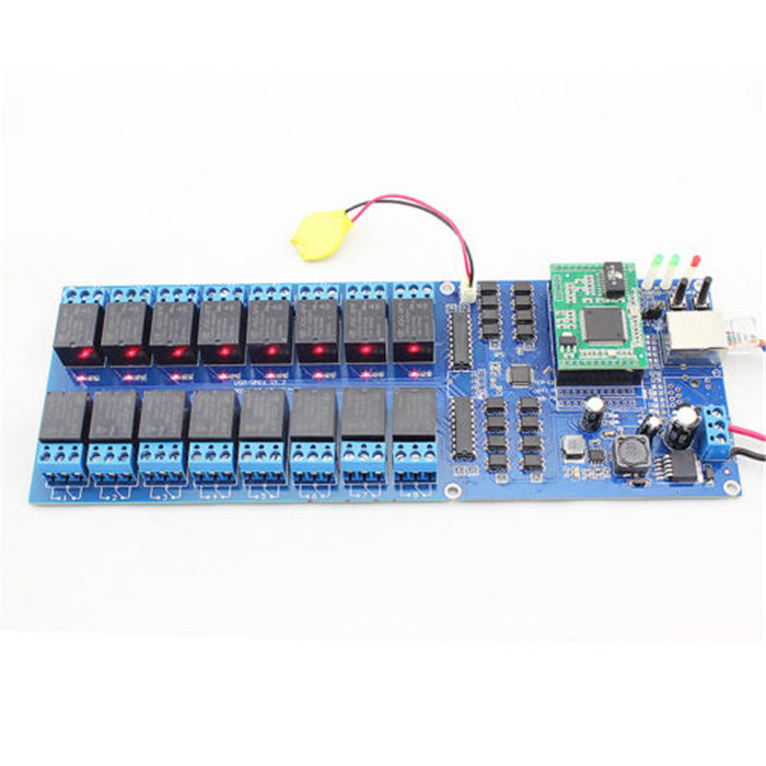 ФОТО Q14028 USR-R16-T 16 Channel Remote Relay Switch with TCP Interface, 16 Channel