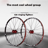 High Quality 26 27 5 Inch Mountain Wheel Group 120 Ring 5 Peilin Wheel Group Bike
