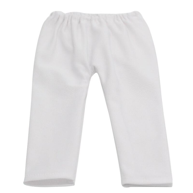 ヾ(^▽^)ノ5 unids/lote blanco negro rosado Pantalones fit 18 ...