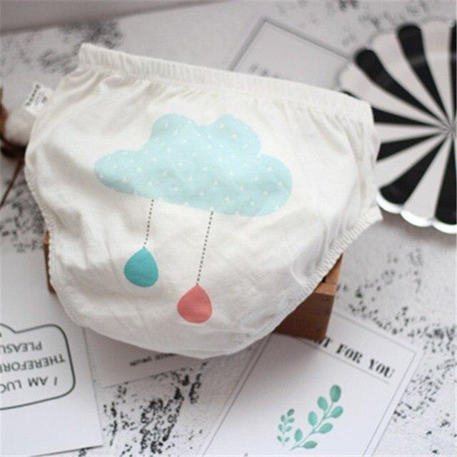 Ropa interior de bebé para los niños lindo patrón de dibujos ...