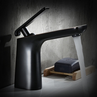 Hot And Cold Water Basin Faucet Brass Black Wash Pool Leading Antique Wash Basin Faucet With
