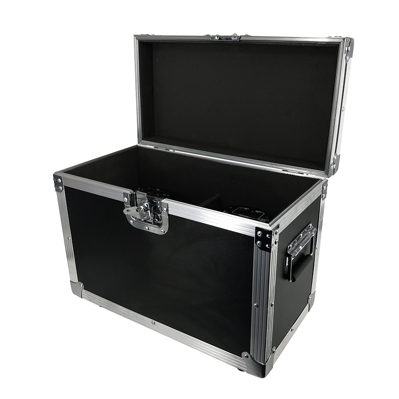 Flight Case LED Par 18x18W Light RGBWA+UV Colour DMX512 Channels Stage Lights Spotlight For Event Disco Party Nightclub Ballroom