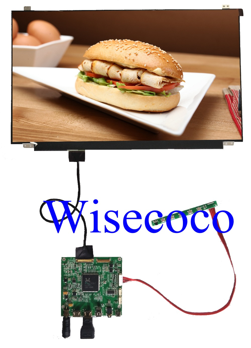 15 6 inch 4K IPS LCD Screen 3840X2160 NV156QUM N32 HDMI DP LCD Contoller Board Driver