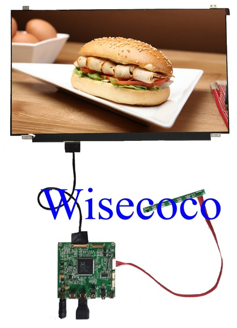 15,6 pulgadas 4 K IPS pantalla LCD de 3840X2160 NV156QUM-N32 HDMI DP LCD Contoller Junta Placa de controlador