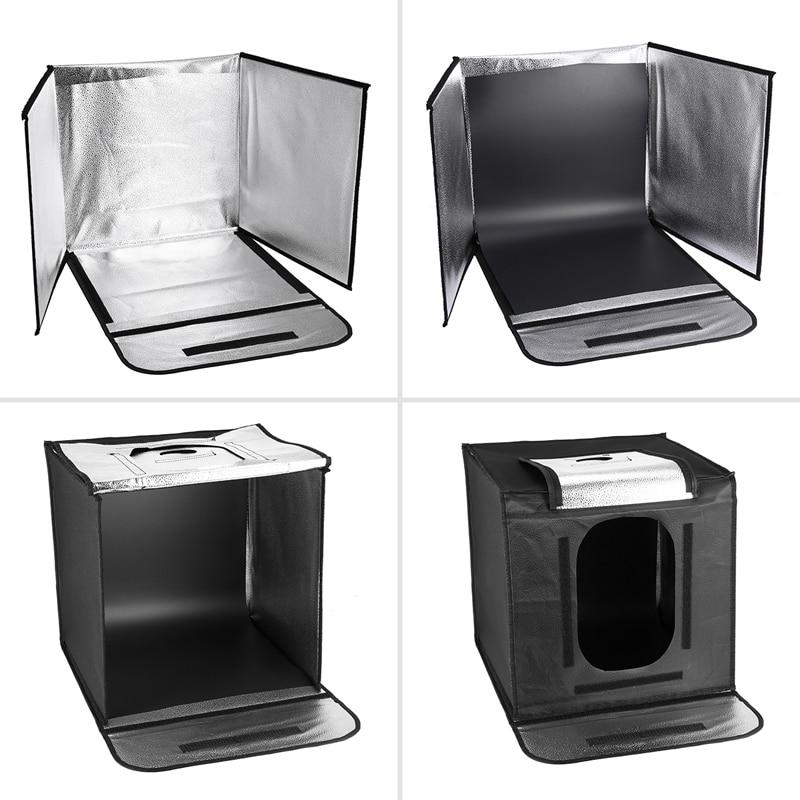 Capsaver Portabel Fotografi Studio Folding Lightbox Mjukbox LED Light - Kamera och foto - Foto 4