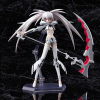 15cm SHF figura Black Rock Shooter The Game Action Figure White Premium Figma SP 033 Model Collectible Sexy Cool Girl Toy EE5