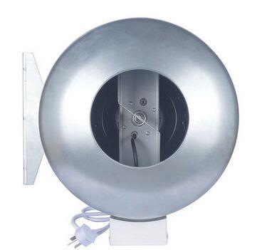 5metal Circular duct fan inline duct fan kitchen ventilation exhaust fan centrifugal blower 125mm