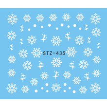 Christmas Design Nail Art Stickers