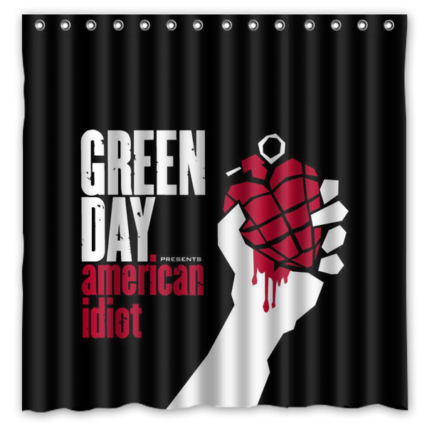 Bathroom Products Green Day Printed Polyester Fabric Shower Curtains Waterproof Washable Curtain 180X180CM China. Online Get Cheap Green Bathroom Products  Aliexpress com   Alibaba