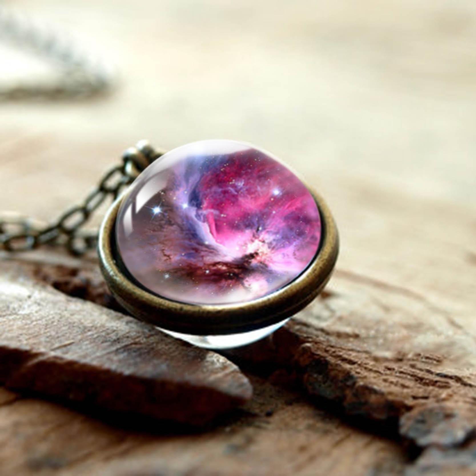 Universe Galaxy Necklace