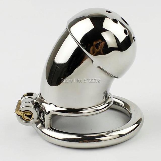 NOVA Gaiola Castidade Masculino Bloqueio Pênis Brinquedos Sexuais Dispositivo de Castidade Caralho Gaiola de Aço Inoxidável Para Os Homens Cinto de Escravidão