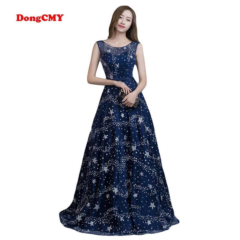 Dongcmy 2018 Evening Dress Long Fashion Plus Size Formal Bandage