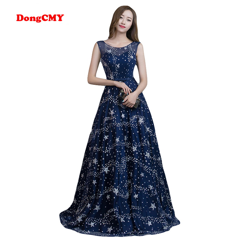 DongCMY 2019 evening dress long fashion plus size formal bandage robe de soiree gala dress