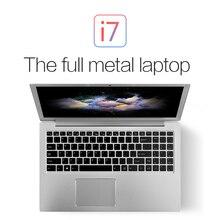 Core i7 процессор 6th 6500U Тип-C ноутбука VOYO vbook I7 15.6 дюймов Dual Core ультрабук IPS Дискретная с Bluetooth Камера